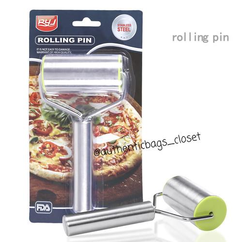 Foto Produk Rolling pin stainless untuk pastry, pizza dan fondant dari Authenticbags_closet