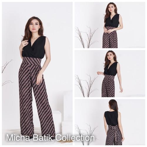 Foto Produk Jumpsuit batik sogan dari Micha Batik Collection