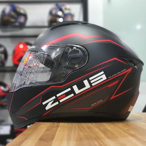 Foto Produk Zeus 811 mblk al12 blk red dari Mr. Zeus