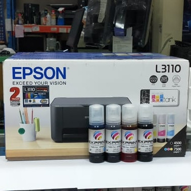 Foto Produk Printer Epson L3110 + Bundling Tinta Exprint Uv dye ink dari Exprint online
