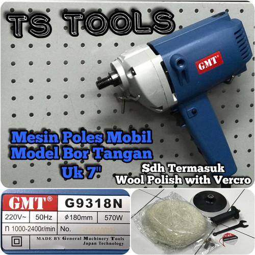 "Foto Produk Mesin Poles Mobil 7"" GMT G9318N / Polisher GMT G 9318 N 7 inch dari TS Tools"