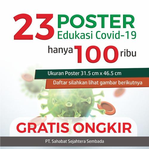 Foto Produk Paket 23 Poster New Normal dari Syafana