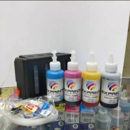 Foto Produk Tabung Infus Printer Box + Tinta Canon 4 warna dari Exprint online
