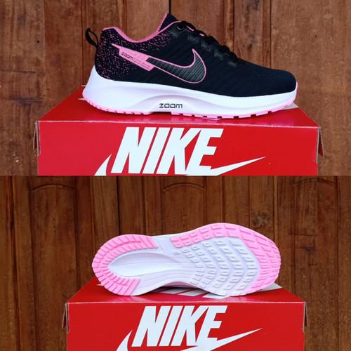 Foto Produk sepatu wanita Nike zoom terbaru termurah sepatu sport sepatu olahraga - Black Pink, 36 dari arkan sport