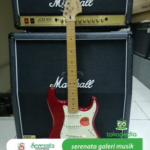 Foto Produk Squier Standard Stratocaster Maple, Made in Indonesia dari Serenata Galeri Musik
