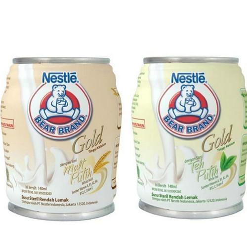 Foto Produk Bear Brand Gold - Bear Brand White Malt - Bear Brand White Tea dari Marbel U