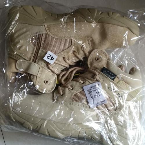 "Foto Produk Sepatu Delta Tactical Army 6"" Warna Sand Hitam - DELTA 86 ""FREE"" dari DELTA 86"