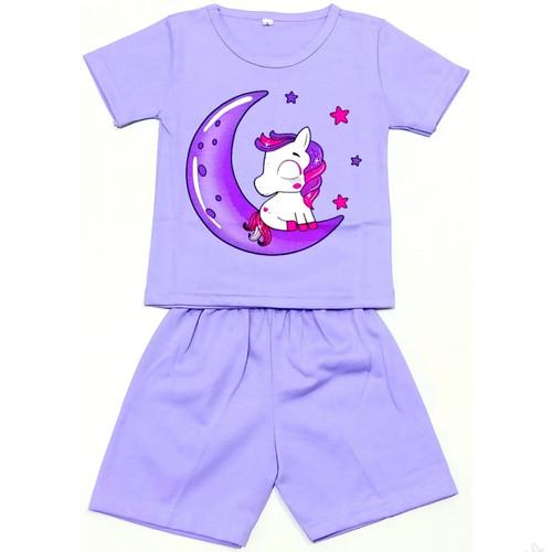 Foto Produk setelan anak perempuan unicorn bintang - unicorn bintang, XXL dari indo_kids