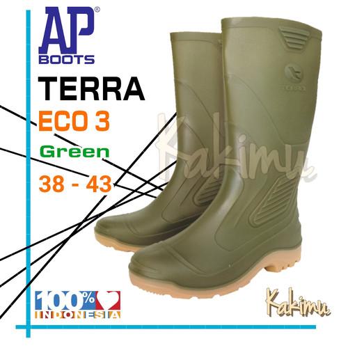 Foto Produk SEPATU BOOT AP BOOTS TERRA ECO 3 HIJAU - 39 dari kakimu_ols