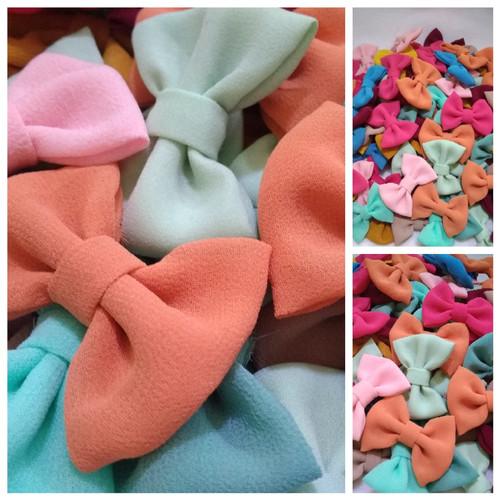 Foto Produk Pita Bow Sifon per gross dari Kutique Craft
