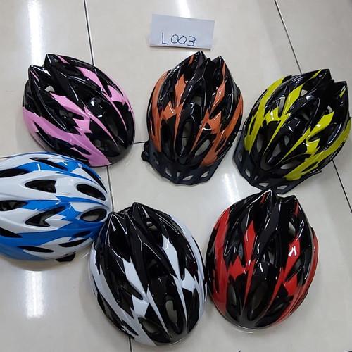 Foto Produk Helm helmet sepeda unisex Bisa atur besar kecil Terbaru L003 dari Hebohstore
