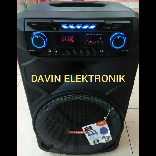Foto Produk Speaker Portable Wireless Asatron HT 8881 UKM 15Inch Handheld Original dari Davin Elektronic