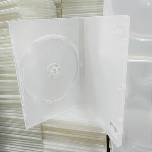 Foto Produk Kotak DVD / Tempat DVD / Disc Box DVD Single Putih dari Glodok VCD