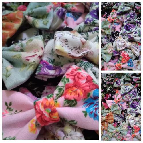 Foto Produk Pita Bow Katun Per Gross dari Kutique Craft