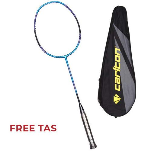 Foto Produk Raket Badminton Carlton Carbotec 1200 G1 HL - StromBlue/Black/Blue dari SPORTAWAYS