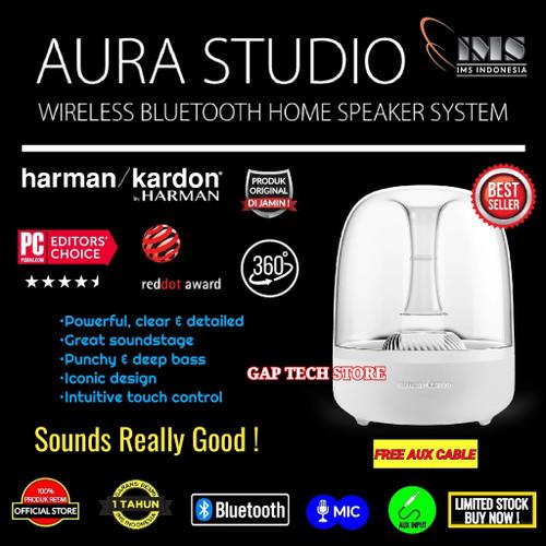 Foto Produk Harman Kardon Aura Studio Bluetooth Home Speaker with Microphone dari GAP TECH STORE