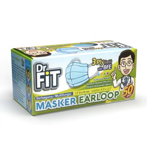 Foto Produk Dr Fit Mask Earloop 50'S (BOX) dari Watsons Indonesia