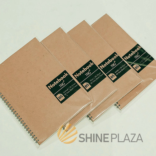 Foto Produk Buku Notebook B5 Dot Grid Plain Ruled TRG - TRG Kraft Cover Spiral Not - Dot dari Shine Plaza