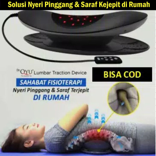 Foto Produk Dr Qyu - Alat Terapi Saraf Kejepit - Terjepit - Dr.Qyu Lumbar Traction dari Fit Sehat Store