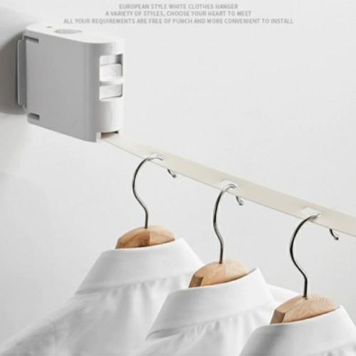 Foto Produk Gantungan Baju Portable / Jemuran Baju Premium Clothesline dari Home Diaries