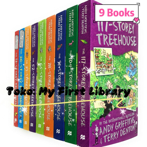 Foto Produk The 13 Storey Treehouse Collection 9 Books Set dari My First Library