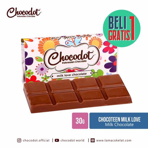 Foto Produk [ BUY ONE GET ONE FREE* ] Coklat Chocodot Teen Milk cokelat dari Chocodot Official Shop
