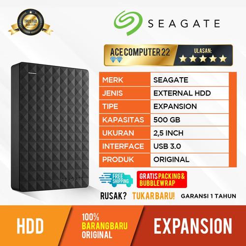 Foto Produk HDD EXPANSION SEAGATE 500GB - EXTERNAL HARDDISK HDD ORIGINAL dari ACE COMPUTER 22