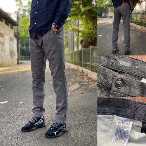 Foto Produk Celana Old Navy Ultimate Slim Built Flex Chino Grey Pattern Original dari OTOMO Store