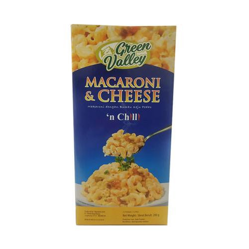 Foto Produk Green Valley Macaroni and Cheese Chilli 200 Gr dari FingerLand