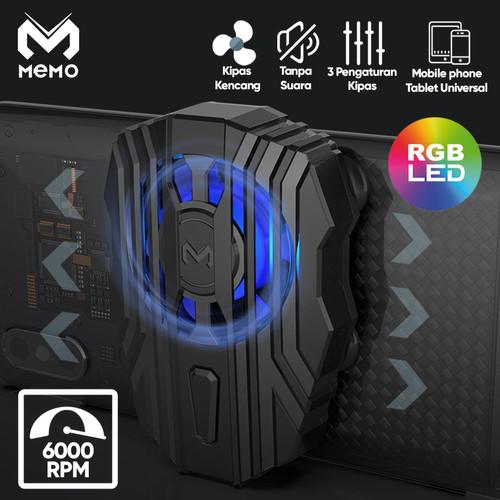 Foto Produk Cooling Pad Gamepad Gaming Cooler Pendingin Handphone Memo FL01 dari Unitech Official