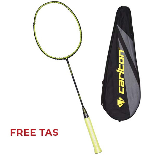 Foto Produk Raket Badminton Carlton C BF Agile 200 G1 HL - Lime dari SPORTAWAYS