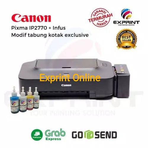 Foto Produk Printer Canon IP2770 + infus tabung Kotak - Tinta Standar dari Exprint online