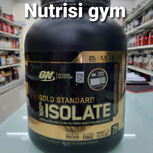 Foto Produk on gold standard isolate 5 lbs hydrolyzed isolate dari Nutrisi Gym