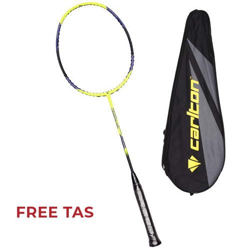 Foto Produk Raket Badminton Carlton Carbotec 1000 G1 HL - Lime/Black/Blue dari SPORTAWAYS