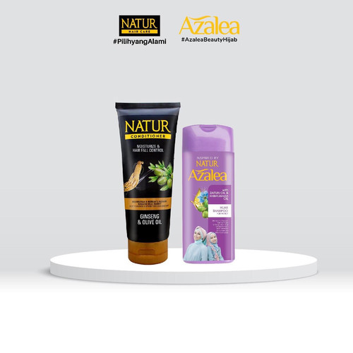 Foto Produk Azalea Shampoo with Zaitun Oil & Habbatussaudah Oil&Natur Conditioner dari AZALEA OFFICIAL STORE