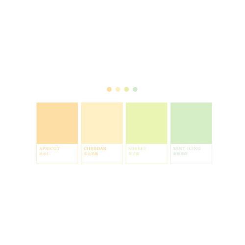 Foto Produk Four Color Sticky Notes Set / Catatan Tempel / Post It - Delicious dari Pinkabulous