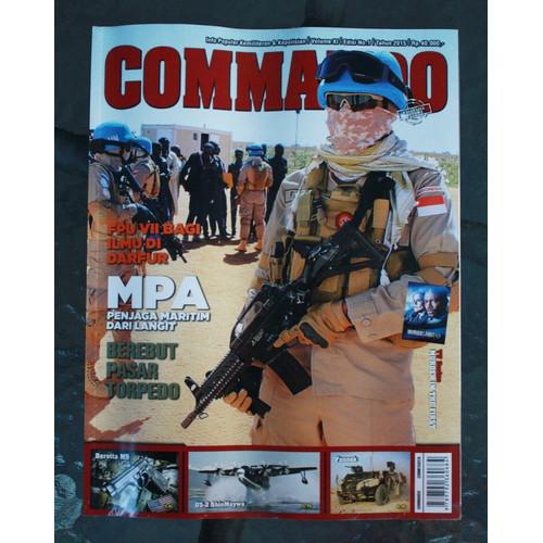 Foto Produk Majalah Commando No. 1 Tahun 2015 dari Airspace Review