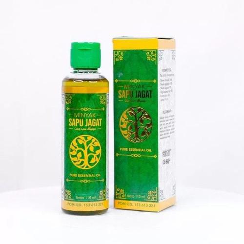 Foto Produk MINYAK SAPU JAGAT HERBAL ORIGINAL - MINYAK OLES - MINYAK PIJAT - 110ML dari AGEN OBAT HERBAL WALATRA