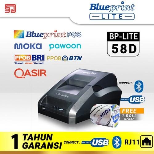 Foto Produk Blueprint Lite 58D (Bluetooth+USB+RJ11) Printer Thermal Struk, Nota dari Sadar Jaya Mandiri