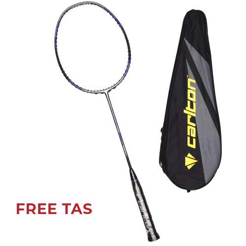 Foto Produk Raket Badminton Carlton Carbotec 2100 G1 HL - Silver/Blue/Black dari SPORTAWAYS
