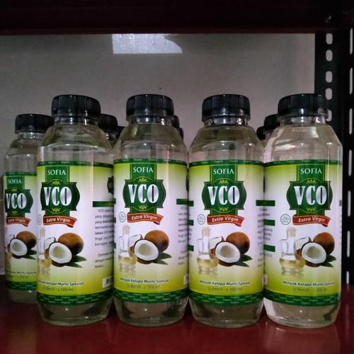 Foto Produk Termurah VCO SOFIA 500ML ORIGINAL - minyak kelapa murni dan asli 💯% dari trend center jakarta