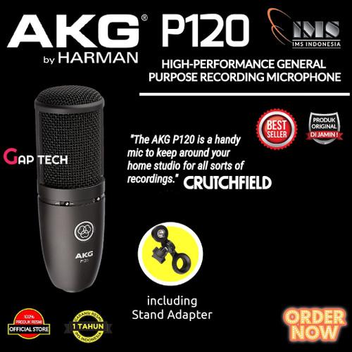 Foto Produk AKG P120 / P 120 High Performance Condenser Microphone Original dari GAP TECH OFFICIAL