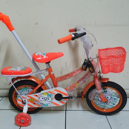 Foto Produk Sepeda anak 12 tongkat stir model perempuan dari kedaisepeda