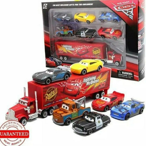Foto Produk Mainan anak mobil truck truk cars lightning McQueen dari naga_toys