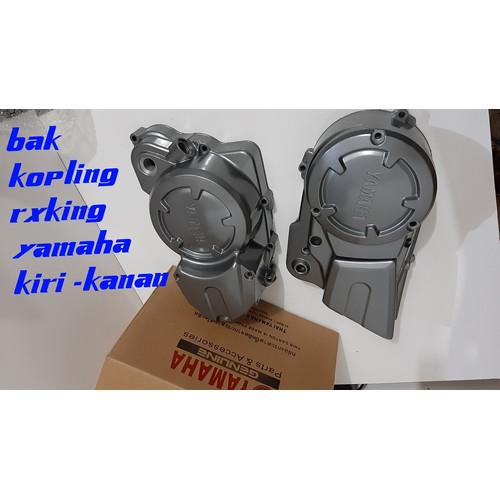 Foto Produk Blok Kopling Bak Kopling RX KING Robot Mesin Cover Kopling Magnet Kana dari familyacc