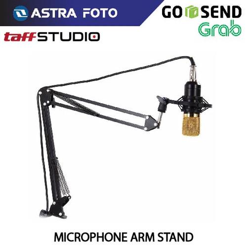 Foto Produk Taffware Arm Stand Mic / Microphone Suspensi Lazypod - Holder Mikrofon dari Astra Foto