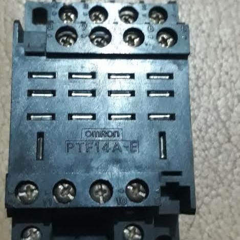 Foto Produk Omron Soket Socket Relay LY4 LY 4 LY-4 Socket Asli Original Omron ORI dari SURYA-ELEKTRIK