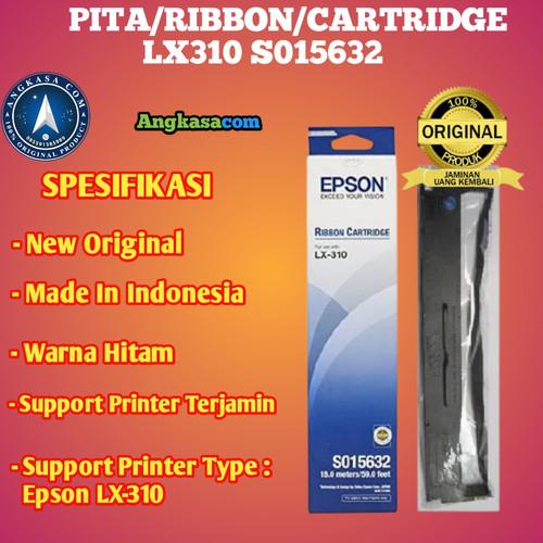 Foto Produk Epson Ribbon Cartridge / Pita / Tinta LX 310 LX310 Original dari Angkasacom
