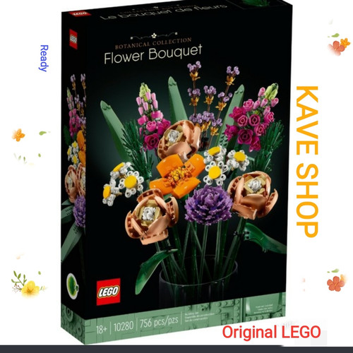Foto Produk LEGO 10280 Botanical Collection : Flower Boutique dari Kave Shop