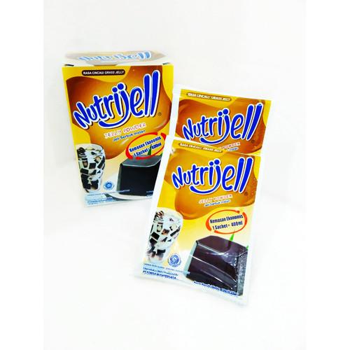 Foto Produk NutriJell Jelly Powder Aneka Rasa 10gr - Cincau dari TOKO BAHAN KUE DONA CILANGKAP